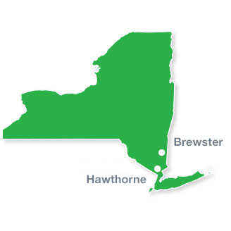 Map of Burke Energy Depots
